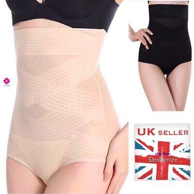 Pack de 2 femmes taille haute Body Shaper Slimming Shapewear Tummy Contrôle Pantalon U