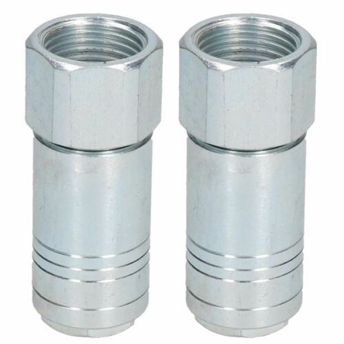 """2pk Female Coupler 1//2/"""" BSP Thread One Touch Air Line Hose Coupling"""