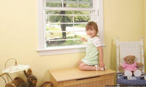 Guardian Angel Window Safety Guard 5 Bar Width 35-58 adj.