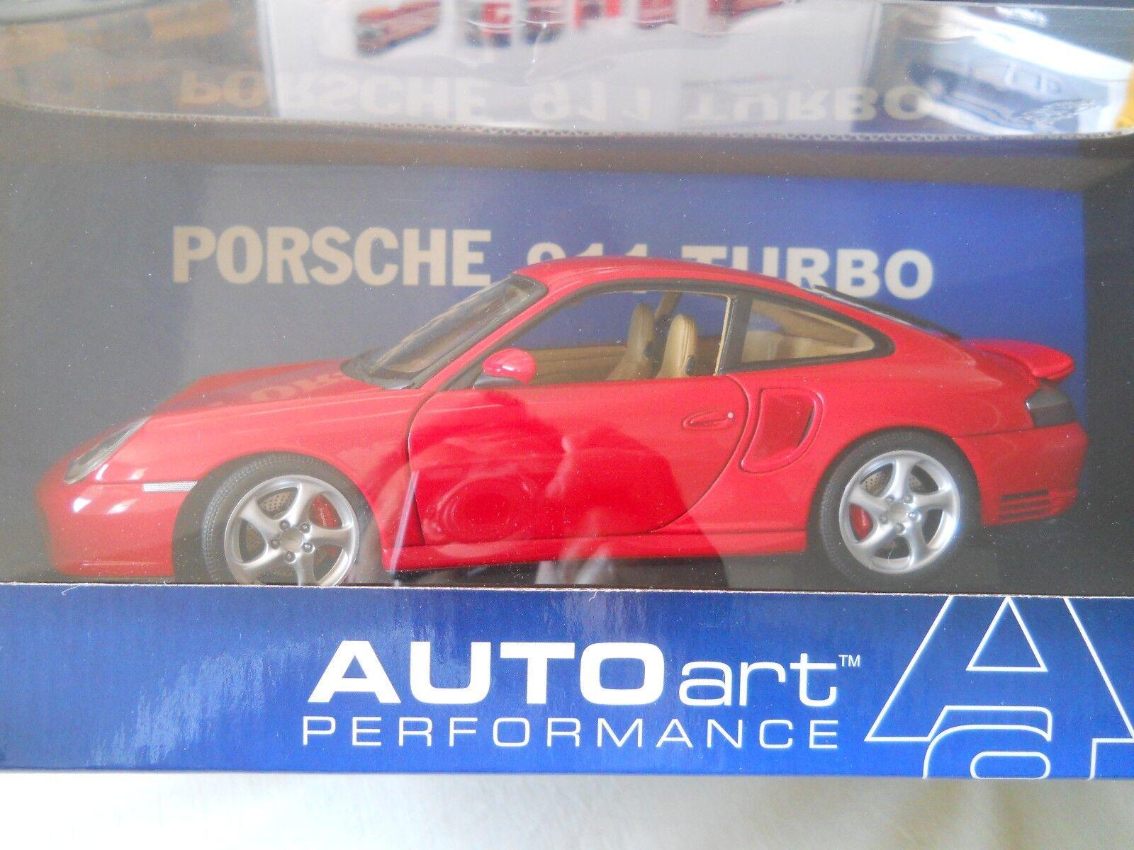 bilAR Porsche 911 Turbo röd 1 18 tärningskast