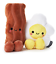 Hallmark-Valentine-Better-Together-Bacon-and-Eggs-Magnetic-Plush-New-with-Tag 縮圖 1
