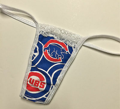 New Mlb Chicago Cubs Lace Trim Thong Team Sizes In My Ebay Store Ebay