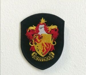 Gryffindor-Shield-badge-Harry-potter-Embroidered-Iron-Sew-On-Patch-j1614