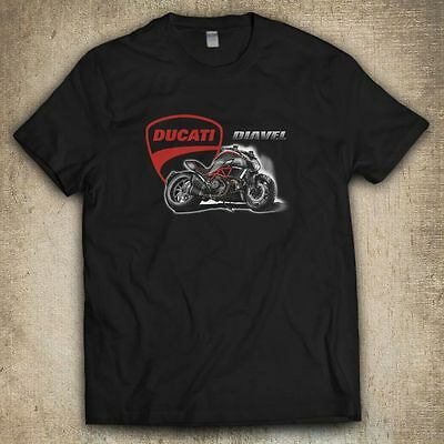 Ducati Diavel Motorcycles MultiStrada t-shirt in All color