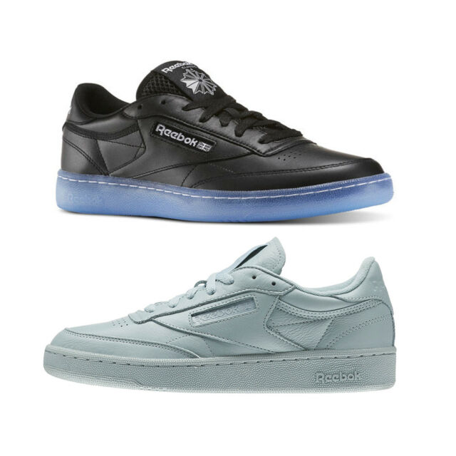 2ed21625cce Reebok Classic Club C 85 Men s Shoe NEW BD1673 Black Ice OR BS7803 Seaside