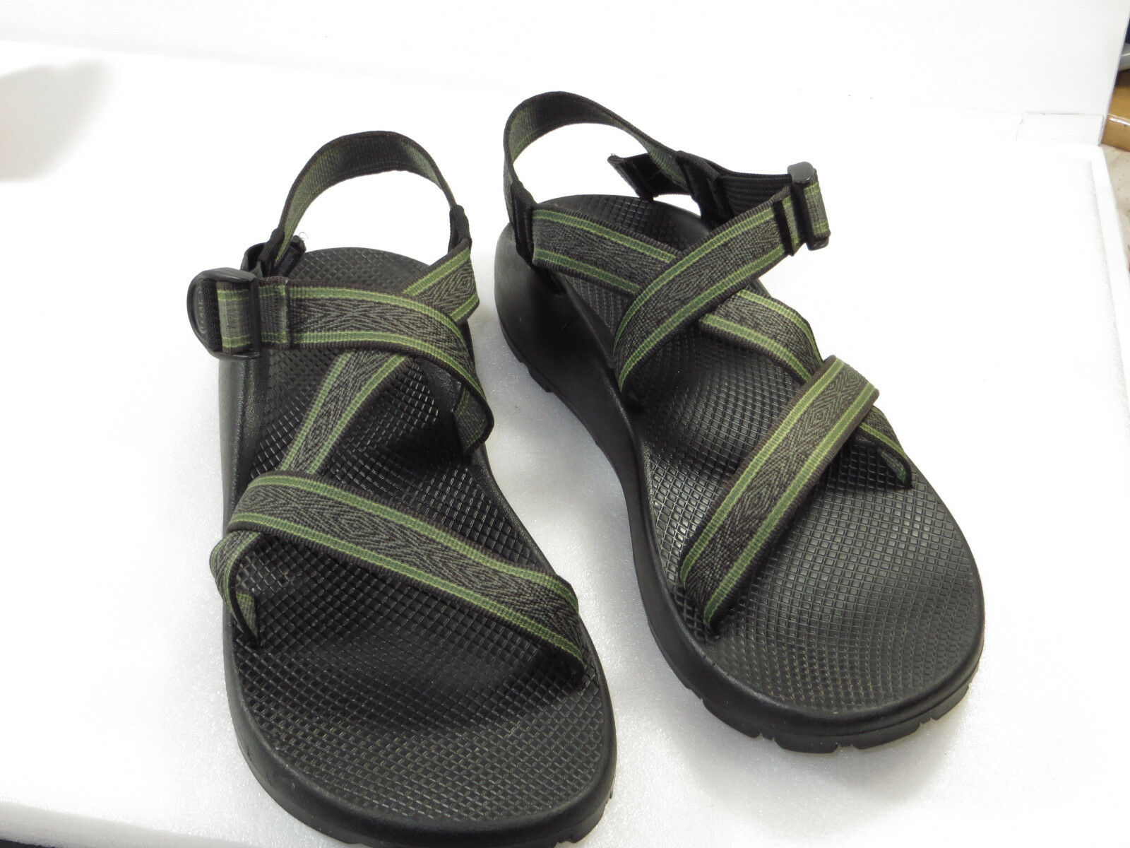 GR8  cond men's CHACO Strap Sandals Sport Adjustable Size U.S M 14
