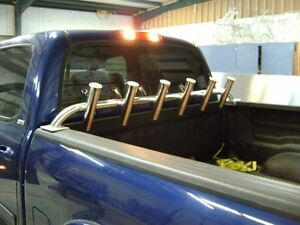 Aluminum Rod Rack 6 Rod Holder Bed Rail Mount Ebay