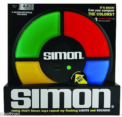 Brand New SIMON - The Electronic Memory Game Free Shipping