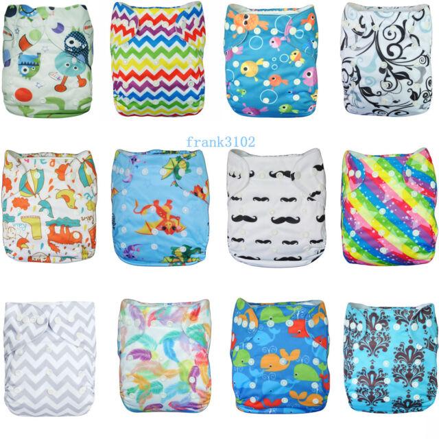 1 U PICK New Design Baby Infant Cloth Diaper Soft Reusable Adjustable Washable