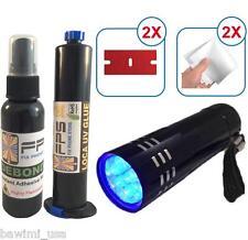FPS KIT LCD GLASS REPAIR LOCA UV GLUE 30ml  +Debonder 60ml +Flashlight UV iPhone