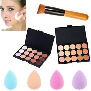 15-Colors-Face-Powder-Concealer-Makeup-Palette-Contour-Cream-Sponge-Puff-Brush