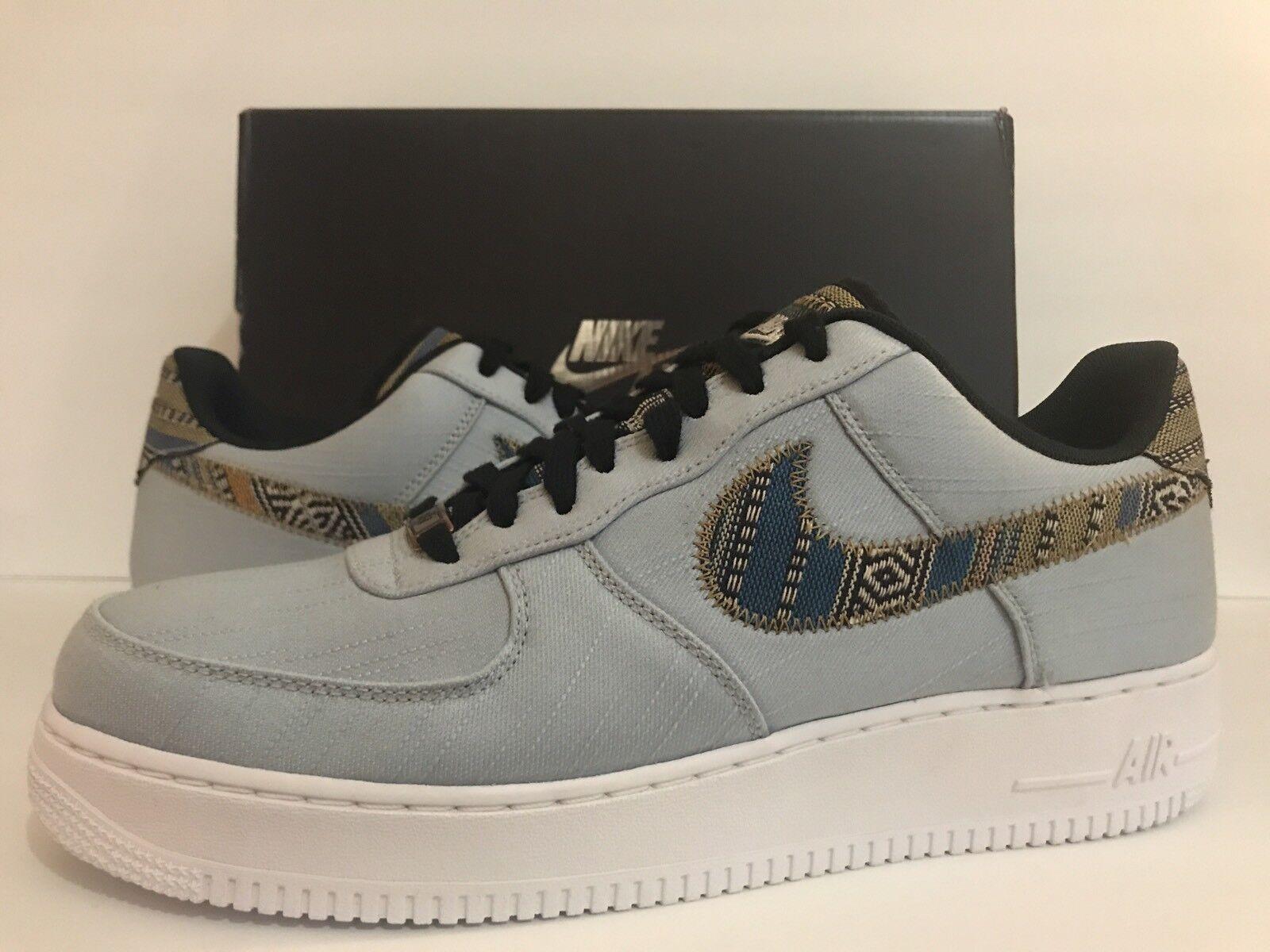 Nike Air Force 1 '07 LV8 LT/Almory/Blue/White/Black 718152-407 Sz 12 Cheap and beautiful fashion