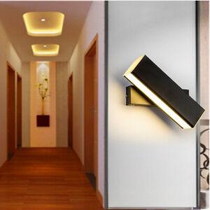2W-6W-LED-Wall-Mount-Light-Fixture-Rotatable-Lamp-Acrylic-Bedside-Lighting-Hotel