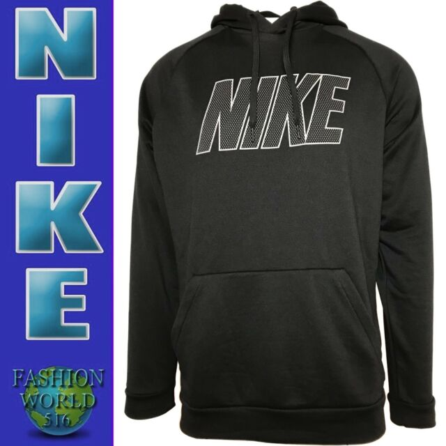 Details zu Men's Nike Just Do It Pullover Hoodie Sweater Top Jumper BlackGrey Size M