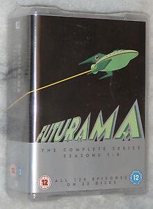 Futurama-Serie-Completa-Temporada-1-2-3-4-5-6-7-8-DVD-Box-Set-Nuevo-y-sin
