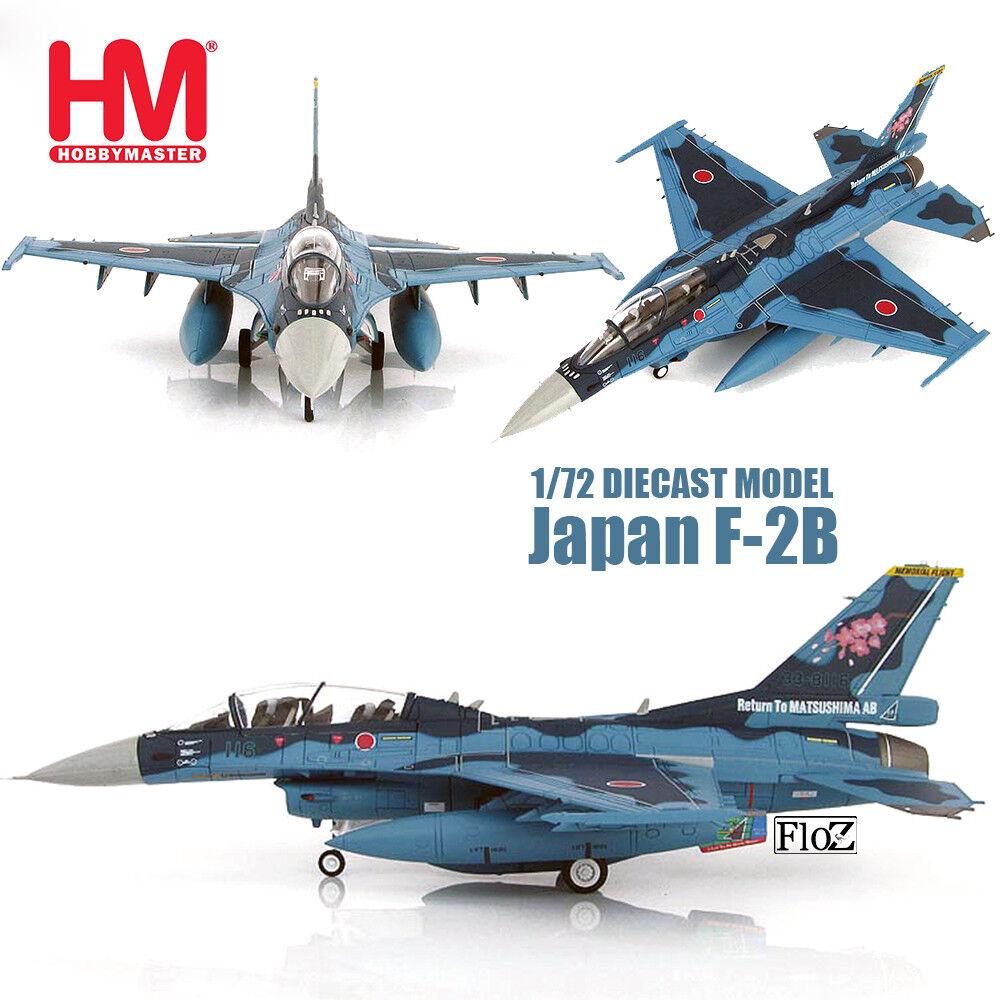 HM HOBBY MASTER Japan F-2B 1 72 diecast  plane model aircraft
