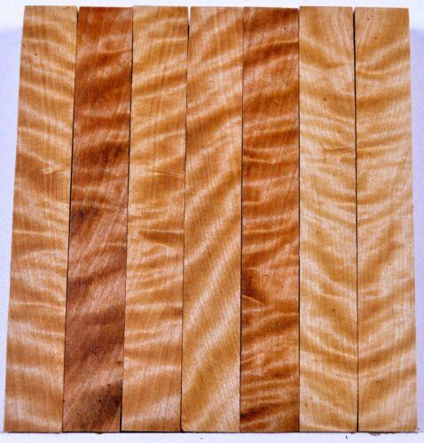 "Pen Blanks YELLOW BIRCH BURL Turning Craft Wood 3//4/"""