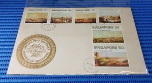 1971-Singapore-First-Day-Cover-Art-Series-Commemorative-Stamp-Issue