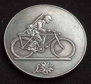 WW2-GERMAN-COIN-ALPEN-EDELWEISS-THIRD-REICH-HITLER-1940-1941