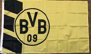 Borussia Dortmund Flag 3x5 Bvb 09 Banner Soccer Football Club Man Cave Ebay