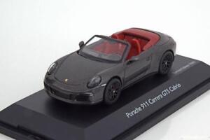 PORSCHE-911-991-CARRERA-GTS-CABRIO-2014-ACHATGRAU-SCHUCO-07577-1-43-SOFT-TOP-RED