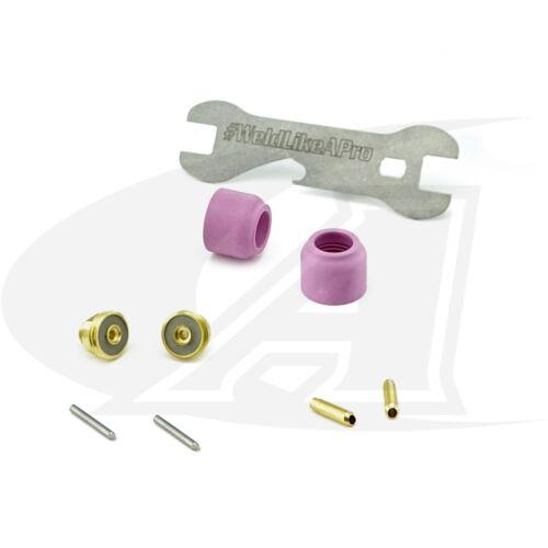Pro Kit 24 /& 8 Series Torches LowRider Gas Lens Kit