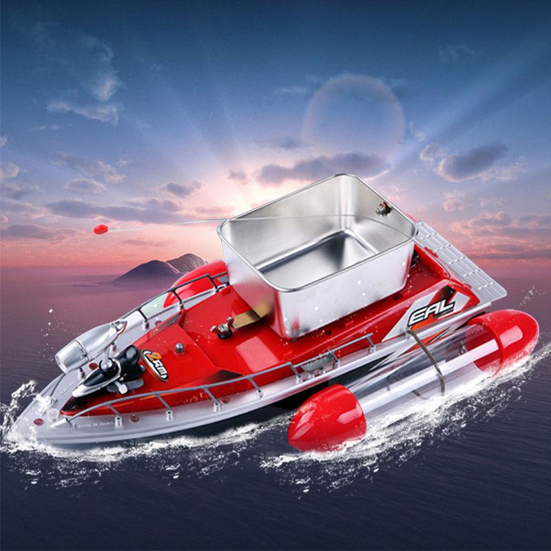 Mini Wireless RC pesca Lure Bait Boat 200M Remote Control for Finding Fish