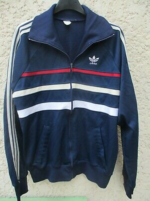 Veste ADIDAS FIRST vintage bleu marine jacket giacca ventex 80's sport 180 L | eBay