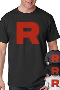 Team-Rocket-Uniform-T-Shirt-perfect-for-Pokemon-Cosplay-Shirt-S-5XL