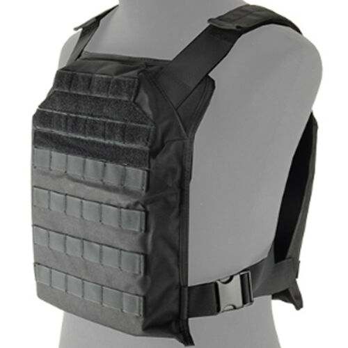 Lancer Tactical 1000D MOLLE PALS Modular PPC Vest Primary Plate Carrier CA-1822