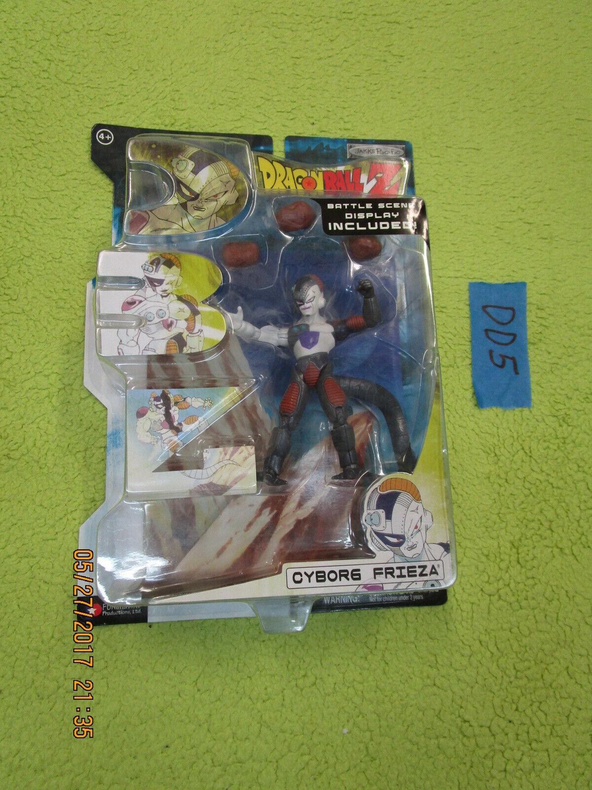 JAKKS Dragon Ball Z Lot DBZ Cyborg Frieza légendaire batailles Series 18 DRAGONBALL