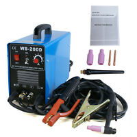 200 Amp Inverter Tig & Mma Welder Stainless Steel Welding Votage 110&220v Dc