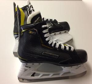 Image Is Loading Bauer Supreme S27 Ice Hockey Skates Junior Or