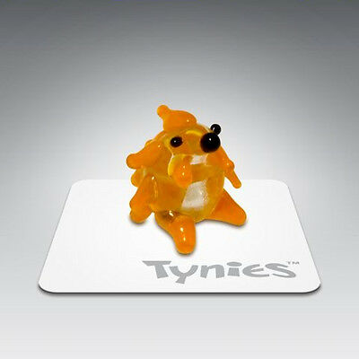 PEP Chick Orange animal TYNIES Tiny Glass Figure Figurines Collectibles NEW 0023