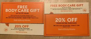 Bath & Body Works Coupons 20% Off + More! Exp 10/31 ~ See Cpns For Details