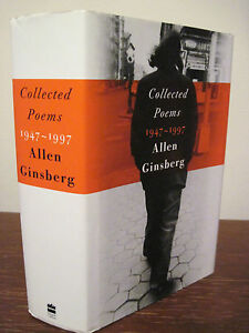 Details About 1st Edition Collected Poems Allen Ginsberg Magnum Opus Poetry First Printing