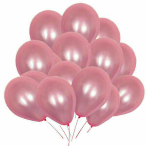 100pcs-Pearl-Pink-Ballons-Party-Wedding-Decoration-Latex-Balloons-10-Inches
