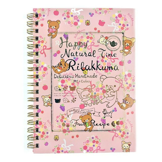 San-x Natural Time Rilakkuma School Supply Notebook Note : A5 Note