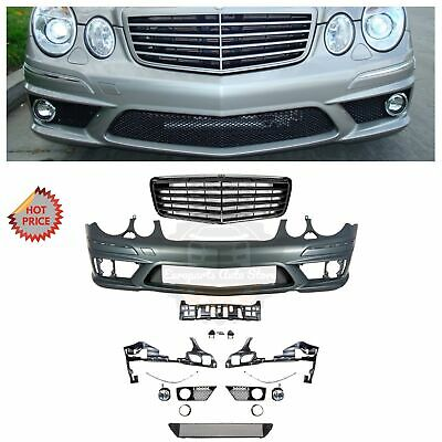 Front Bumper Cover For 2003-06 Mercedes Benz E320 211 Chassis w//Appearance Pkg