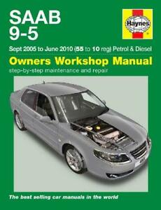 saab 9 5 shop manual service repair book haynes chilton turbo 95 rh ebay com 2006 saab 9-2x owner's manual 2006 saab 97x owners manual