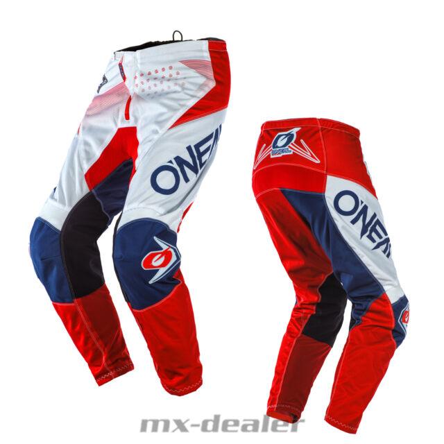2020 O/'Neal Element Factor Weiß Hose  mx motocross Enduro Quad Crosshose BMX
