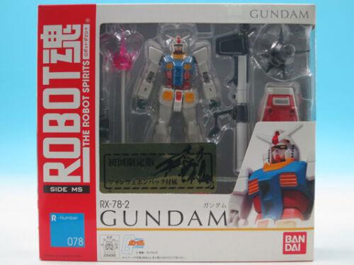 RX-78-2 Gundam First Release B... Robot Spirits Mobile Suit Gundam FROM JAPAN