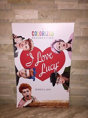 24x36 SHRINK WRAPPED TEXT CROSS EYED 241088 GLASSES POSTER I LOVE LUCY