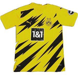 Puma BVB Borussia Dortmund 2020 - 2021 Home Soccer Jersey ...