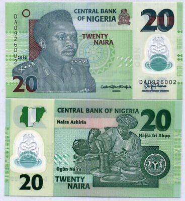 DZ REPLACEMENT NOTE PREFIX NIGERIA 50 NAIRA 2006 P 35r UNC First Date