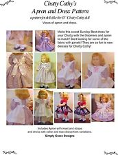 Chatty Cathy's Apron, Dress, and Undies Sewing Pattern  ~ Simply Grace Designs