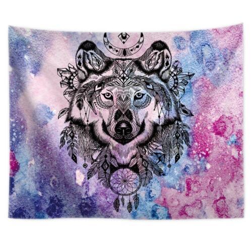 Hanging Wall Tapestry Printed Blanket Carpet Yoga Beach Mat Comfort Home Decor