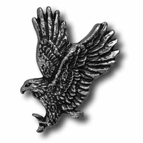 """5260-CC 1/""""  Antique Nickel Flying Eagle Decorative Metal Piece"""