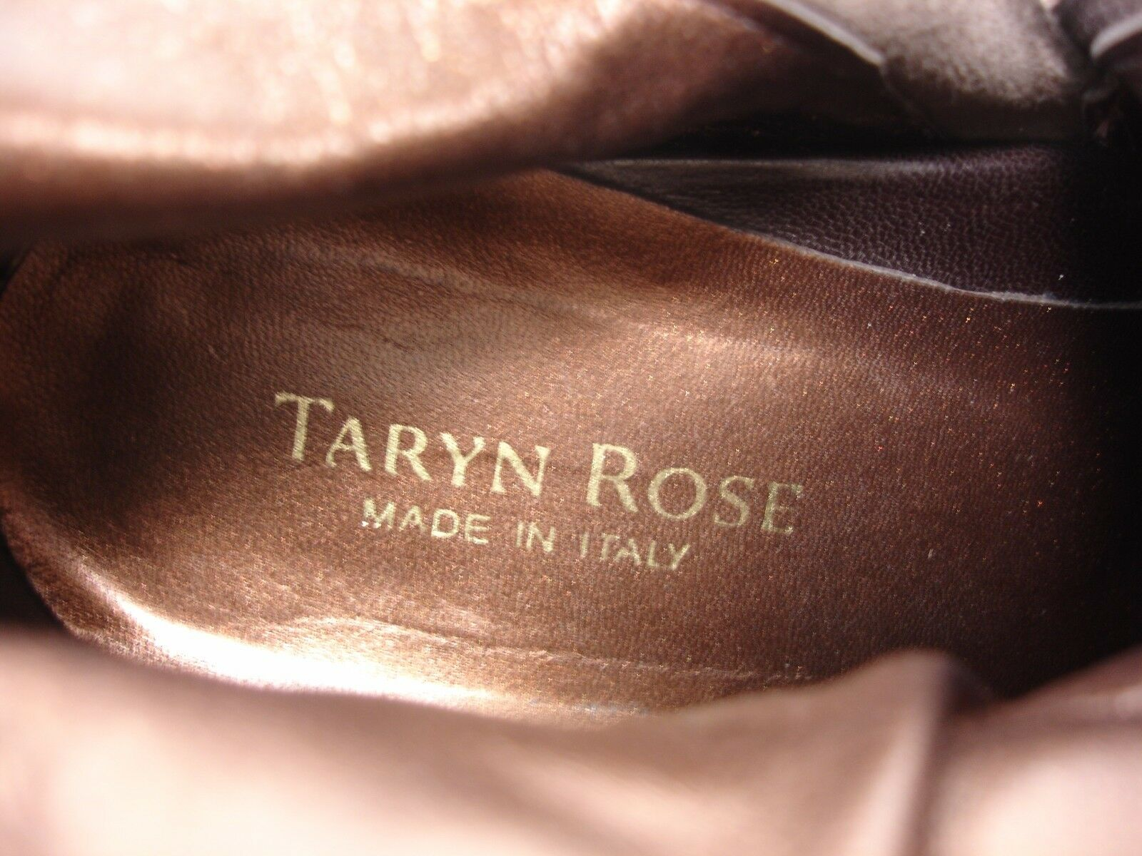 TARYN TARYN TARYN Rosa PLEATED LEATHER SUEDE TRIM WEDGES SIDE ZIP ANKLE Stiefel damen 37.5 f817ae