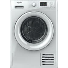 Whirlpool FT CM10 8B UK Condenser Tumble Dryer: Freestanding, 8kg in White